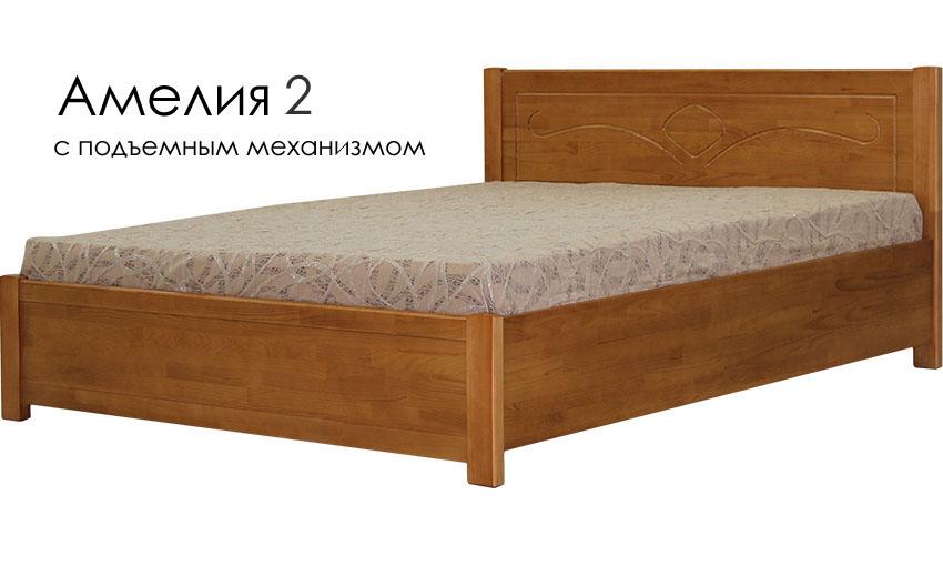 Деревянные кровати из массива дерева  белгород