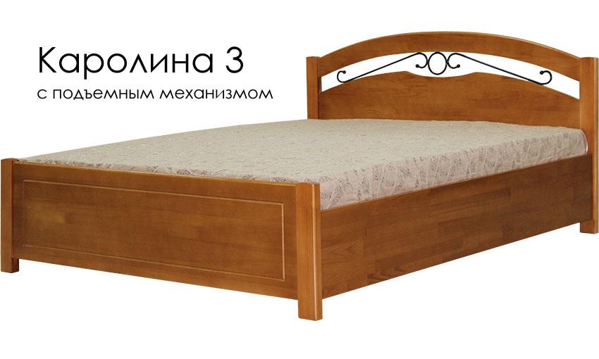 Кровать из массива дерева от производителя